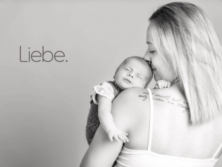 Babyshooting mit Mutter