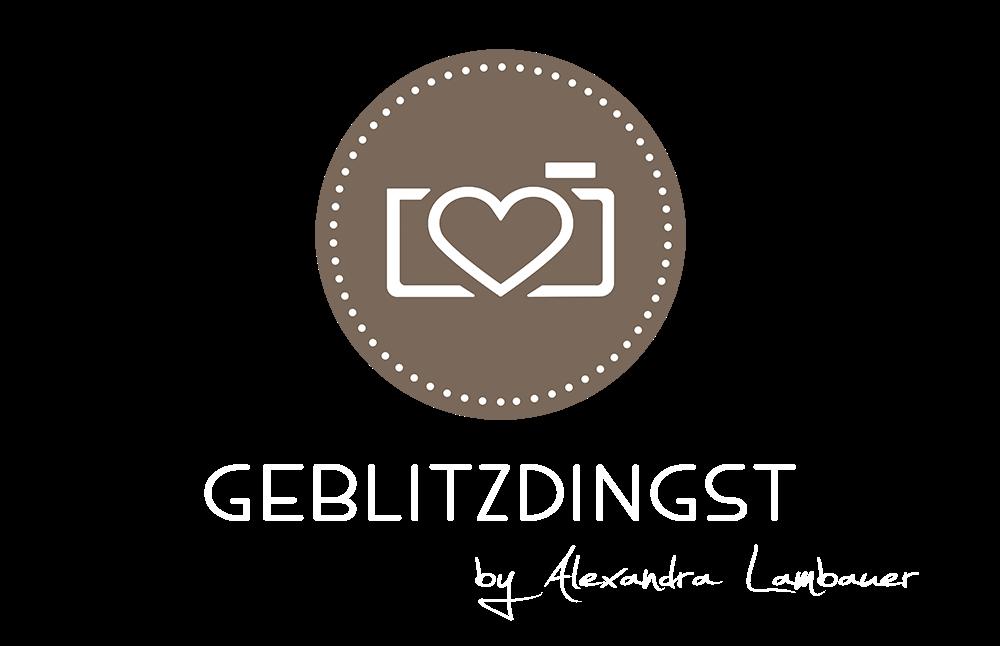 Logo Footer Geblitztdingst by Alexandra Lambauer